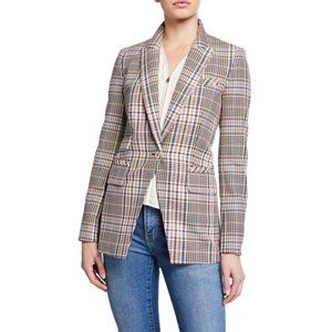VERONICA BEARD Fuller Dickey Jacket Blazer Plaid